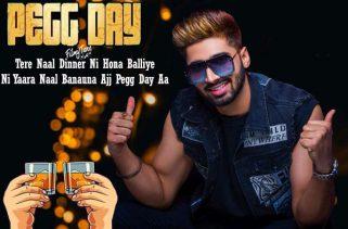 pegg day lyrics punjabi song