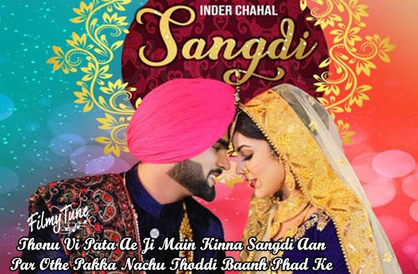 sangdi lyrics punjabi song