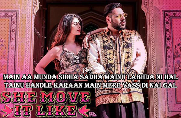she move it like lyrics punjabi song