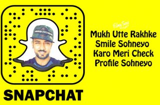 snapchat lyrics punjabi song