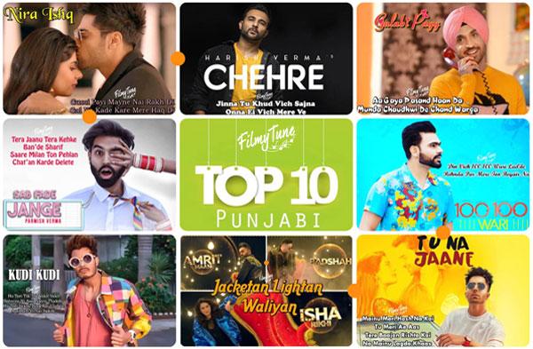 top 10 punjabi songs 2019 week 01