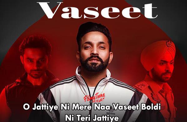 vaseet lyrics punjabi song