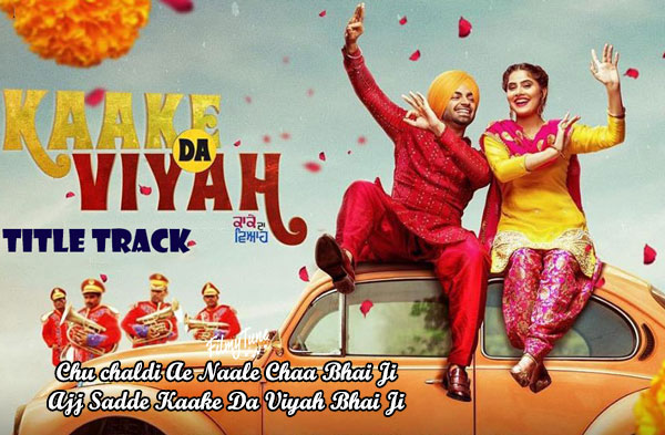 kaake da viyah title song lyrics