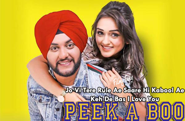 peek s boo lyrics punjabi song