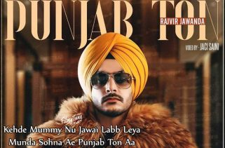 punjab ton lyrics punjabi song