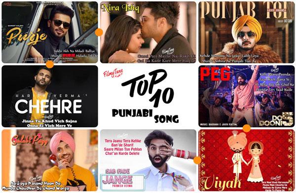 top 10 punjabi songs 2019 week 02