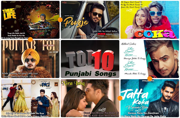 Top 20 Punjabi Song (April 2019),Top 10 indian songs ...