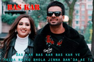 bas kar lyrics punjabi song