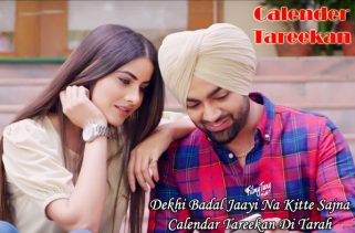 calender tareekan lyrics punjabi song