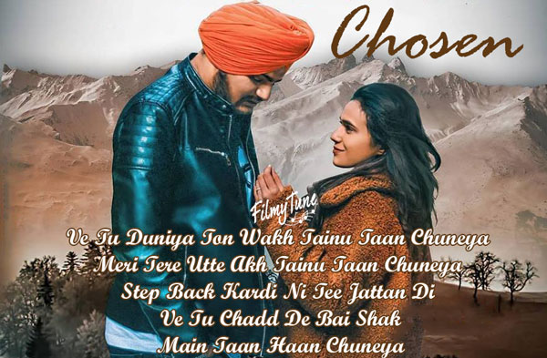 chosen lyrics punjabi song