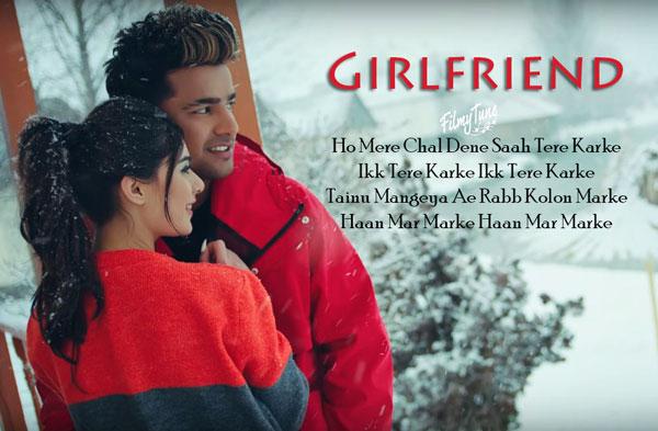 girlfriend lyrics punjabi song