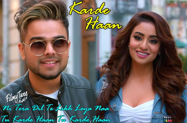 karde haan lyrics punjabi song