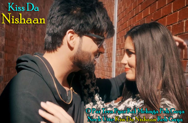 kiss da nishaan lyrics punjabi song