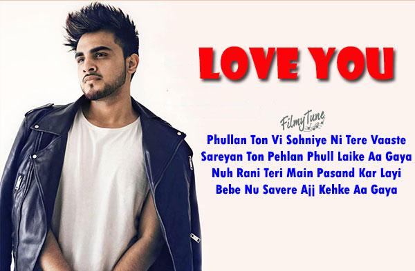 love you lyrics punjabi song