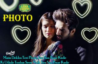 photo lyrics bollywood song