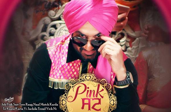 pink suit lyrics punjabi song