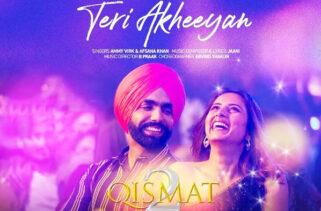 Teri Akheeyan Song | Ammy Virk & Sargun Mehta